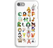 That's Alphabet Folks iPhone Case/Skin