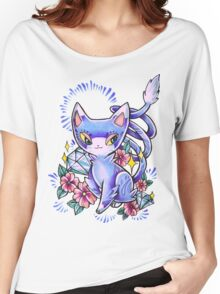 Glameow Women's Relaxed Fit T-Shirt