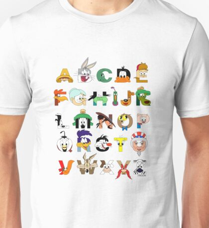 That's Alphabet Folks Unisex T-Shirt