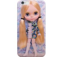 Alice rocks a 60s vibe iPhone Case/Skin