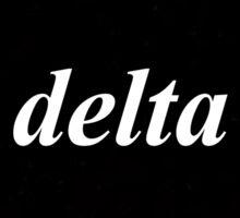 Delta Black Box Sticker