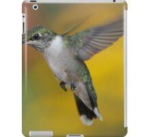 Ruby Throated Hummingbird iPad Case/Skin