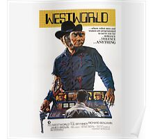 Westworld Poster Poster
