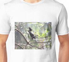 Little Cormorant on a tree Unisex T-Shirt