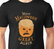 MAKE HALLOWEEN GREAT AGAIN - DONALD TRUMP PARODY TRUMPKIN Unisex T-Shirt