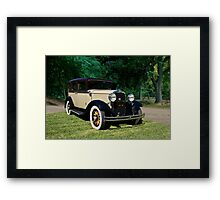 1929 Dodge DA Sedan Framed Print