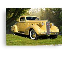 1934 LaSalle Rumble Seat Coupe Canvas Print