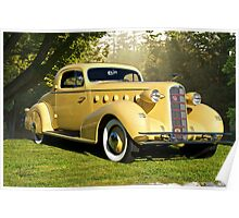 1934 LaSalle Rumble Seat Coupe Poster