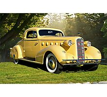 1934 LaSalle Rumble Seat Coupe Photographic Print