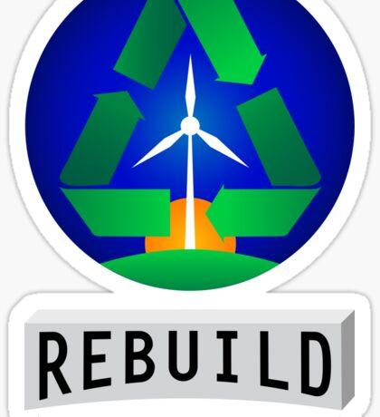 Rebuild America | Renewable Energy Sticker
