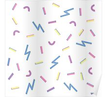 Jazzy Confetti Dance Party Poster