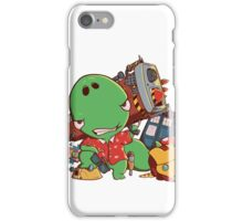 Cool and Nerd Dinosaur  iPhone Case/Skin