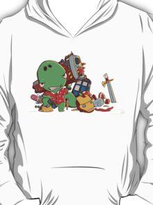 Cool and Nerd Dinosaur  T-Shirt