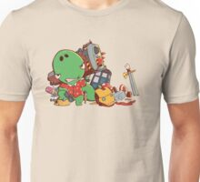 Cool and Nerd Dinosaur  Unisex T-Shirt
