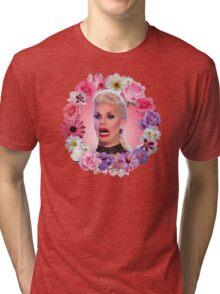 Shocked Katya Zamolodchikova - Rupaul's Drag Race All Stars 2 Tri-blend T-Shirt