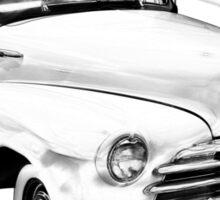 1948 Chevrolet Fleetmaster Antique Car Illustration Sticker