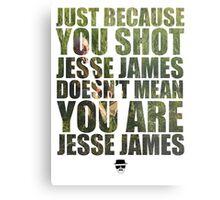 Mike Ehrmantraut - Jesse James - Breaking Bad Metal Print