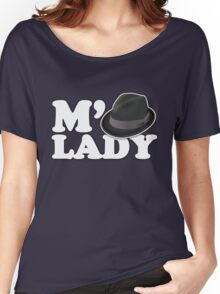M'Lady Fedora Women's Relaxed Fit T-Shirt
