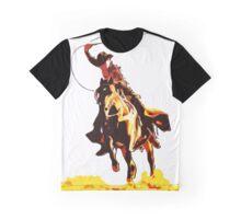 Wild West Lasso Cowboy Graphic T-Shirt