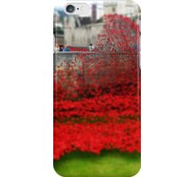 Tower Poppies, London iPhone Case/Skin