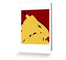 Magnus, Dragonborn Pirate Greeting Card