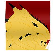 Magnus, Dragonborn Pirate Poster