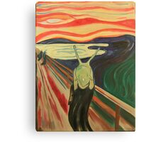 the slug scream  Canvas Print