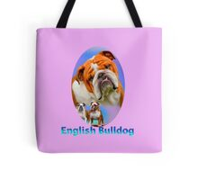 English Bulldog  Tote Bag