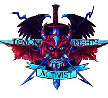 Demon Rights Activist  by the-fairweather