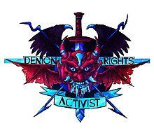 Demon Rights Activist  Photographic Print