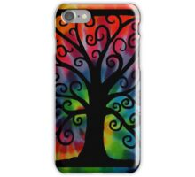 Tree of Life Tie Dye iPhone Case/Skin