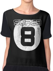 Super 8 Women's Chiffon Top