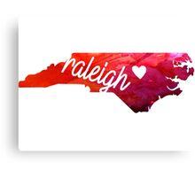 Raleigh Canvas Print