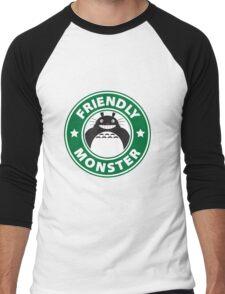Friendly Monster Men's Baseball ¾ T-Shirt