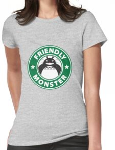 Friendly Monster Womens Fitted T-Shirt