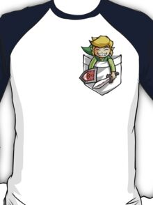Happy Pocket Link Legend of Zelda T-shirt T-Shirt