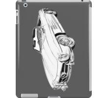 Mercedes Benz 300 SL Convertible Illustration iPad Case/Skin