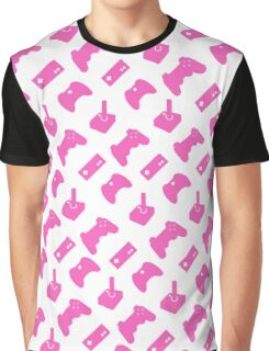 Pink Gamer Graphic T-Shirt
