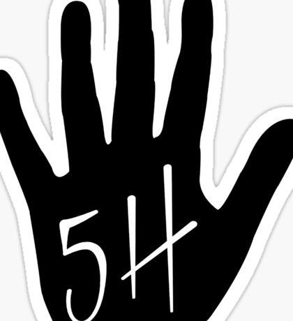 "Fifth Harmony ""FiveHigh"" Official 7/27 Merch #4 ( Black ) Sticker"