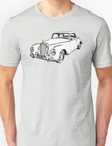 Mercedes Benz 300 Luxury Car Illustration T-Shirt