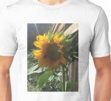 Bumblebee on Sunflower Unisex T-Shirt