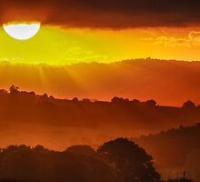 Sunset Vista by Clare Colins