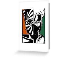 kakashi Greeting Card