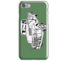 Old Flat Bed Ford Work Truck Illustration iPhone Case/Skin