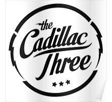 The Cadillac Three Logo Poster