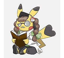 Doctor Pika Photographic Print