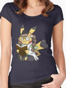 Doctor Pika Women's Fitted Scoop T-Shirt