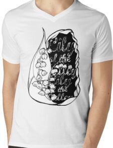 Lily of the Valley Mens V-Neck T-Shirt