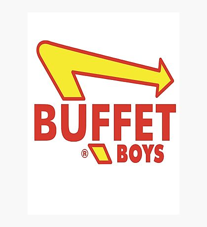 Buffet Boys  Photographic Print