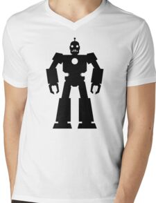 Giant  Robot Mens V-Neck T-Shirt